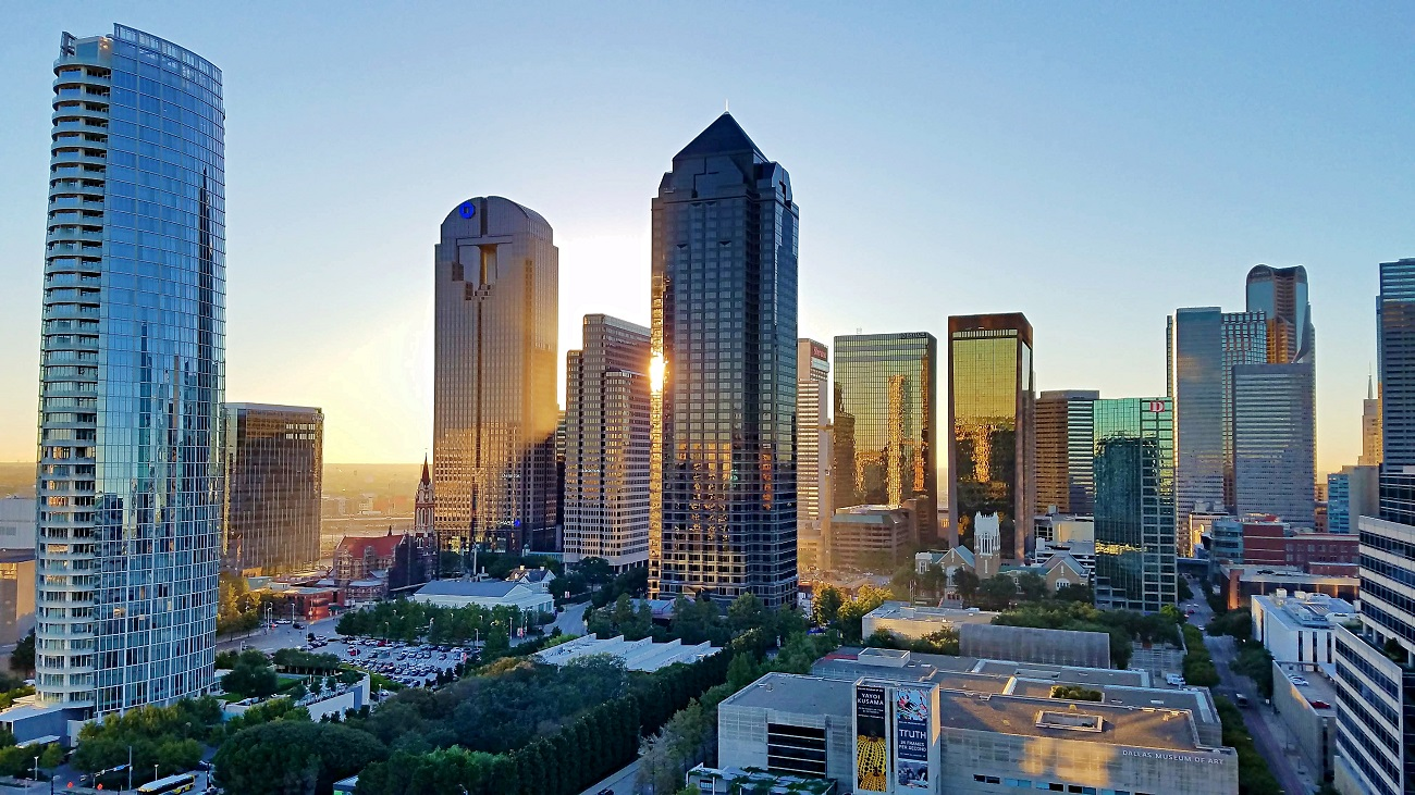 Sell My Dallas Real Estate Fast [Dallas Skyline with Arts District]